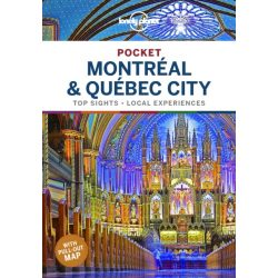 Montreal & Quebec City Lonely Planet Pocket Montreal útikönyv2020 angol