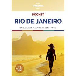 Rio De Janeiro útikönyv Lonely Planet Pocket Rio de Janeiro 2019 angol zsebkönyv