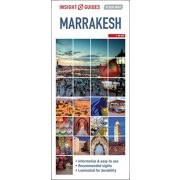 Marrakesh térkép Insight Map  1:15 000 2020