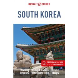 Dél-Korea útikönyv, South Korea Insight Guides, 2019 angol