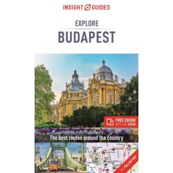 Budapest útikönyv Insight Guides Explore Budapest Guide 2020 Budapest útikönyv angol