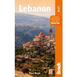 Libanon útikönyv, Lebanon útikönyv Bradt 2015 - angol