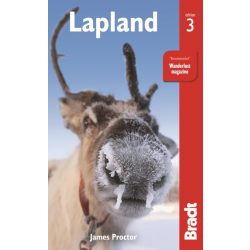 Lapland útikönyv Lappföld útikönyv Bradt - angol