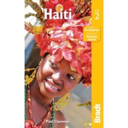 Haiti útikönyv Bradt 2016 - angol