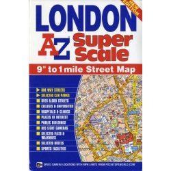 London térkép Super Scale  AZ