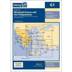 Imray Chart G1 : Mainland Greece and the Peloponnisos 2017