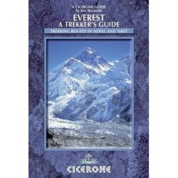Everest útikönyv, Everest A Trekker's Guide : Trekking Routes in Nepal and Tibet  Cicerone, 2012 angol