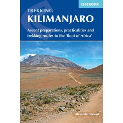 Kilimanjaro útikönyv Trekking Kilimanjaro Cicerone guide