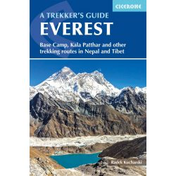 Everest útikönyv A Trekker's Guide : Base Camp, Kala Patthar and other trekking routes in Nepal and Tibet Cicerone, 2018 angol