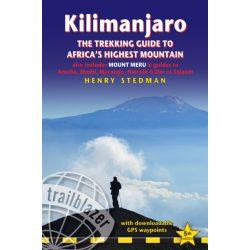 Kilimanjaro : The Trekking Guide to Africa's Highest Mountain, Kilimanjaro hegymászó könyv Trailblazer 2018 angol