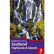 Scotland Highlands & Islands Skócia útikönyv Footprint Focus Guide, angol 2018