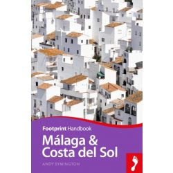 Malaga & Costa del Sol útikönyv Footprint Focus Guide, angol 2019 - Malaga útikönyv angol