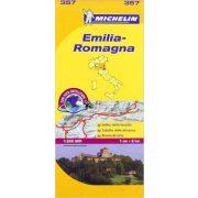 357. Emilia térkép Michelin 1:200 000