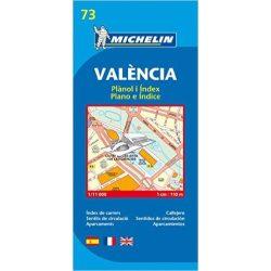 73. Valencia térkép Michelin 1:11 000
