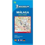 76. Malaga térkép Michelin 1:10 000