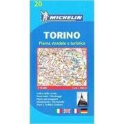 20. Torinó térkép Michelin 1:16 000