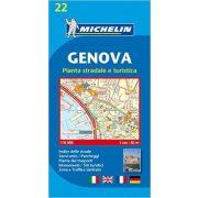 22. Genova térkép Michelin 1:12 500
