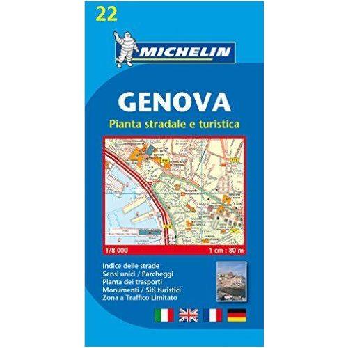 22 Genova Terkep Michelin 1 12 500 9782067137912 Olaszorszag