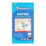 27. Nápoly térkép Michelin 1:8 000