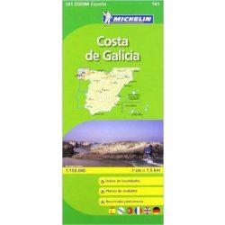 141. Costa de Galicia térkép Michelin 1:150 000
