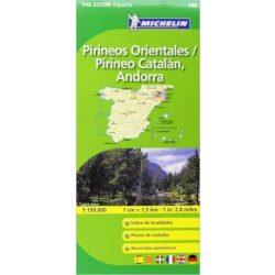 146. Pirineos Orientales térkép Michelin 1:150 000