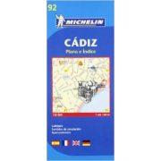 92. Cádiz térkép Michelin 1:6 000
