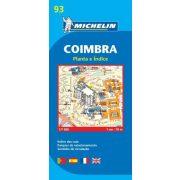 93. Coimbra plan térkép  9093. 1/6,000