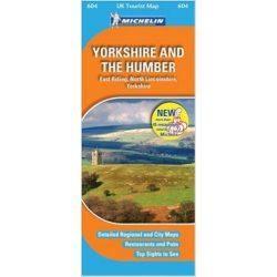 604. Yorkshire térkép Michelin 1:400 000