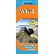 605. Wales térkép Michelin 1:400 000