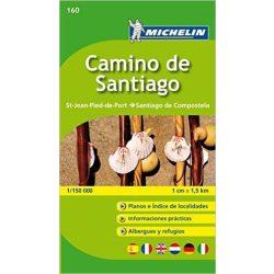 160. Camino de Santiago térkép Michelin 1:150 000