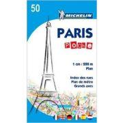Paris Plan Poche térkép  0050. 1/20,000