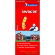 753. Svédország térkép Michelin 1:1 200 000