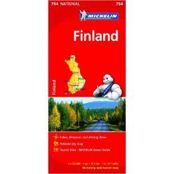 754. Finnország térkép Michelin 1:1 250 000