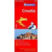 757. Horvátország térkép Michelin 2015 1:750 000