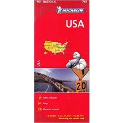 761. USA térkép Michelin 1: 3 450 000