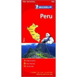 Peru térkép Michelin 0763. 1/1,500,000