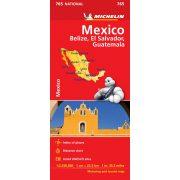 Mexico térkép  0765. 1/2,500,000 Mexikó térkép Michelin