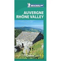 Auvergne/Rhône Valley  útikönyv angol Green Guide  1304.