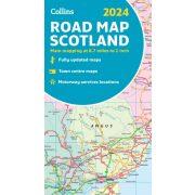 501. Skócia térkép Michelin 1:400 000  Scotland térkép