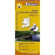 503. Wales térkép Michelin  1:400 000
