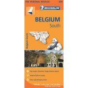 534. Dél-Belgium térkép, Ardennek térkép Michelin 1:200 000