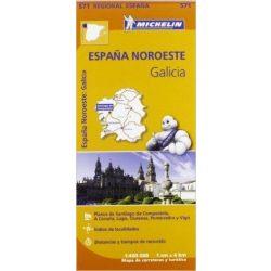 571. Galicia térkép Michelin 1:400 000