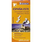 577. Comunidad, Valenciana, Murcia térkép Michelin 1:400 000