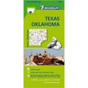 176. Texas térkép Michelin 1:1 267 200