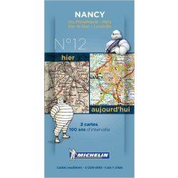 Nancy térkép  8012. 1/200,000