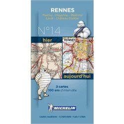 Rennes térkép  8014. 1/200,000