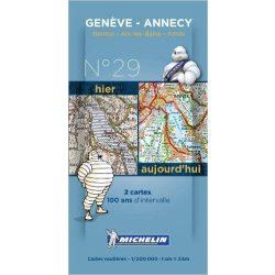Annecy térkép  8029. 1/200,000