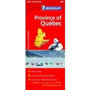 760. Quebec térkép  Michelin 1:1 100 000