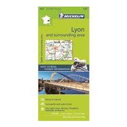 31. Lyon térkép Michelin 1:10 000