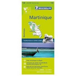 138. Martinique térkép  Michelin  1:80 000